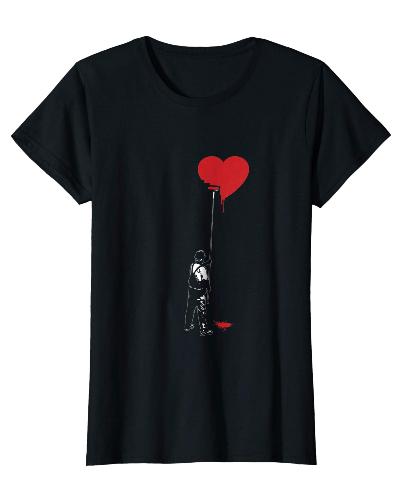 Heart Painter Funny Graffiti Love T-shirt