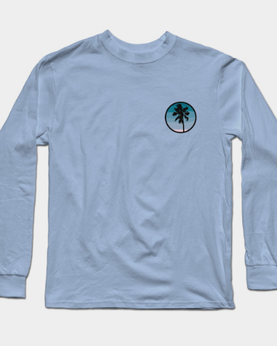 Ocean Palm Long Sleeve T-Shirt