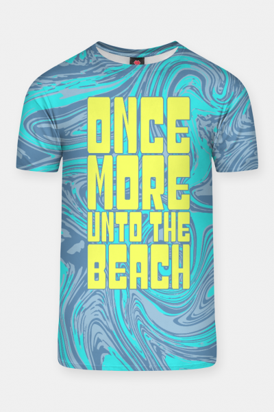 Once More Unto The Beach T-shirt, Live Heroes