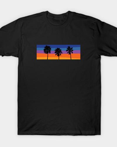 Palm Tree Sunset T-Shirt