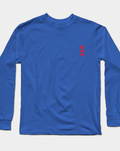 Simple Camp out Long Sleeve T-Shirt