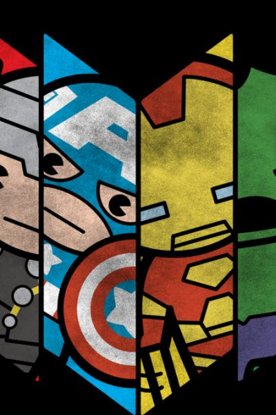 Avengers Cartoon Shield T Shirt By Marvel Design By Humans