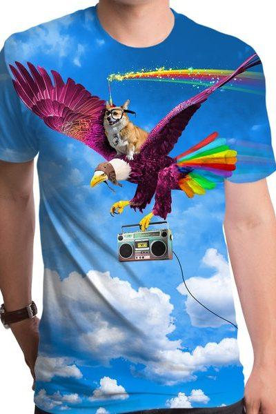 Epic Corgi Unicorn T-Shirt