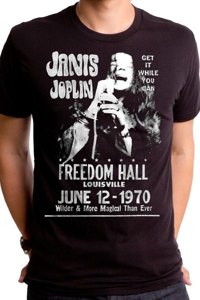 Janis At Freedom Hall T-Shirt