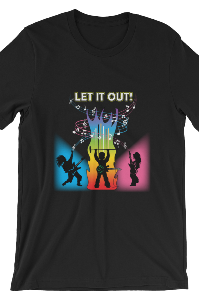 Let It Out (dark tee)