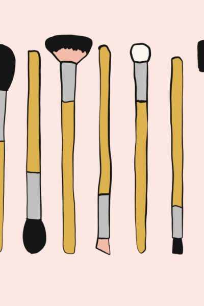 Make Up Brushes Artist Set Doodle / Sketch T Shirt By SevenStripes Design By Humans