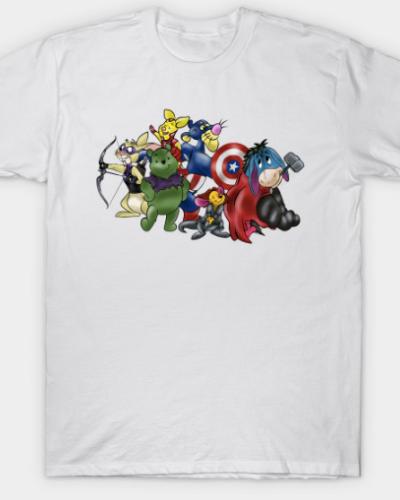 New Avengers – Winnie The Pooh & Friends T-Shirt