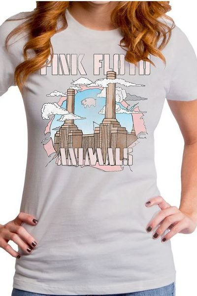 Pink Floyd Factory Girls T-shirt