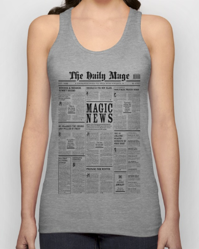The Daily Mage Magic Fantasy Newspaper