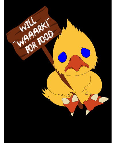 "Will ""WAAARK!"" for Food"