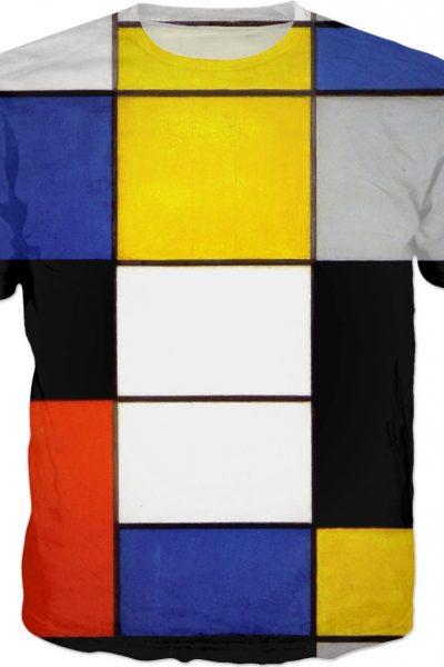 Composition A  (Piet Mondrian