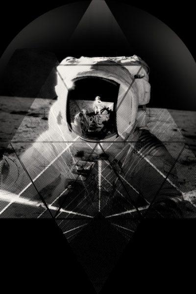 Geometric Space Travel T Shirt By Tshirtevolution Design By Humans