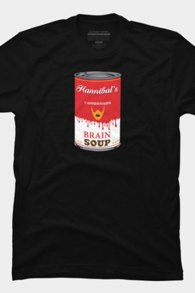 Hannibal Soup T Shirt By Oldtee Design By Humans