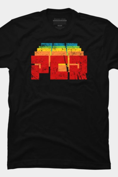 Retro Distressed PCR T Shirt By Stoppersays Design By Humans