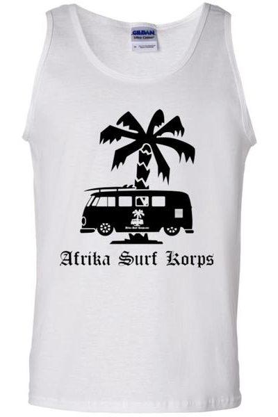 Afrika Surf Korps Bus 100% Cotton Tank Top New