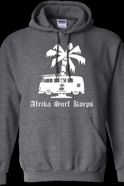 Afrika Surf Korps Bus Pullover Hoodie 8 oz.