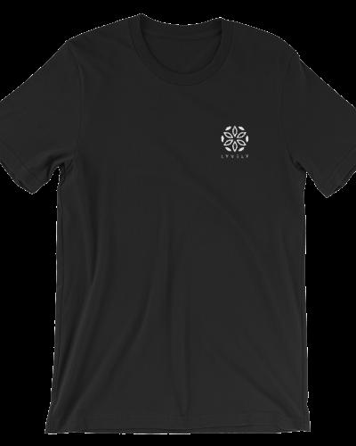 Basic Lyvely Embroidered Logo T-shirt