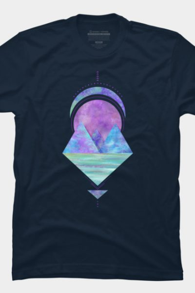 Cosmic Lagoon T Shirt By Saivi Design By Humans