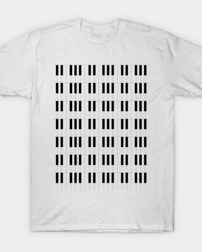 Piano Key Stripes