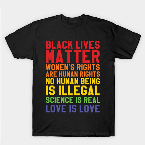 Black Lives Love Is Love T-Shirt
