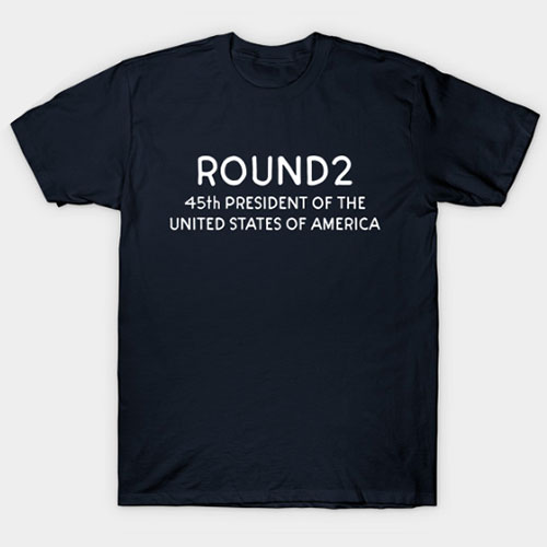 45th president of the united states of america R2 T-Shirt