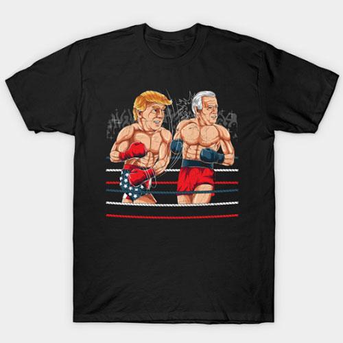 Boxing Match 2020 Joe Biden Donald Trump T-Shirt