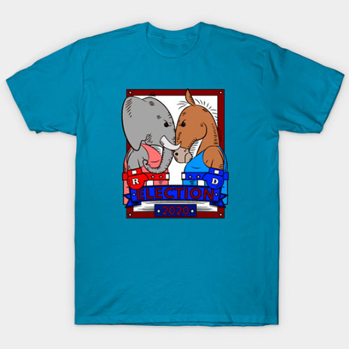 Election 2020: Get Ready For A Battle T-Shirt