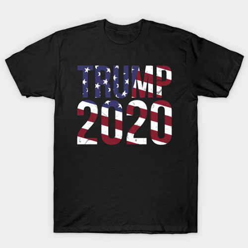 Trump 2020 USA election campaign T-Shirt