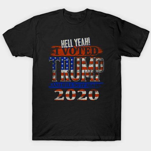 Vote Donald Trump Election 2020 T-Shirt