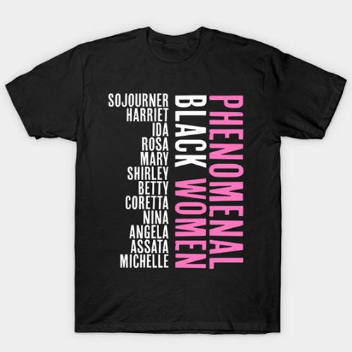 Phenomenal Black Women Afrocentric T-Shirt