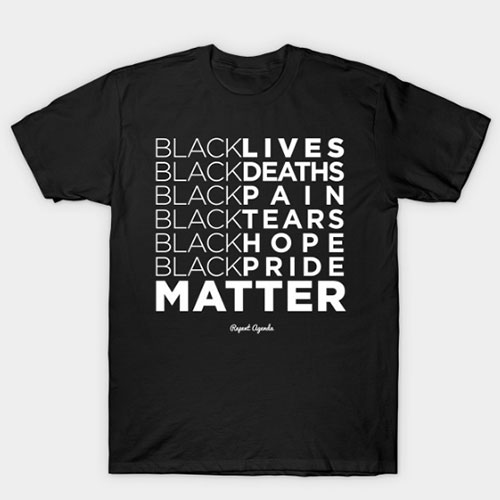 Redesign of my BLM /BLK shirt T-Shirt