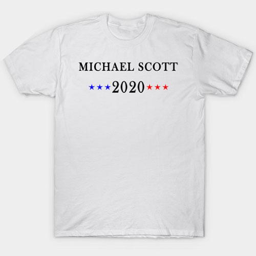 Michael Scott 2020 T-Shirt , Election 2020 Shirt T-Shirt
