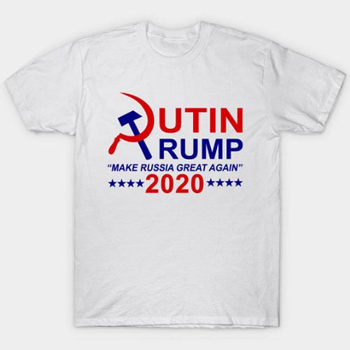 Putin Trump 2020 make Russia great again T-Shirt