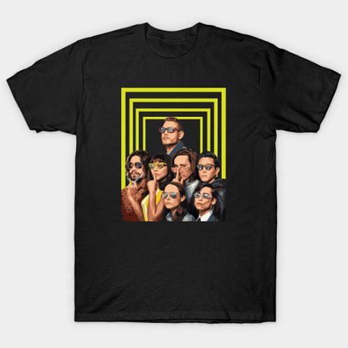 Umbrella Funny Academy T-Shirt