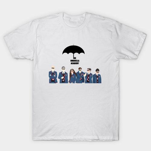 Umbrella Academy v5 T-Shirt