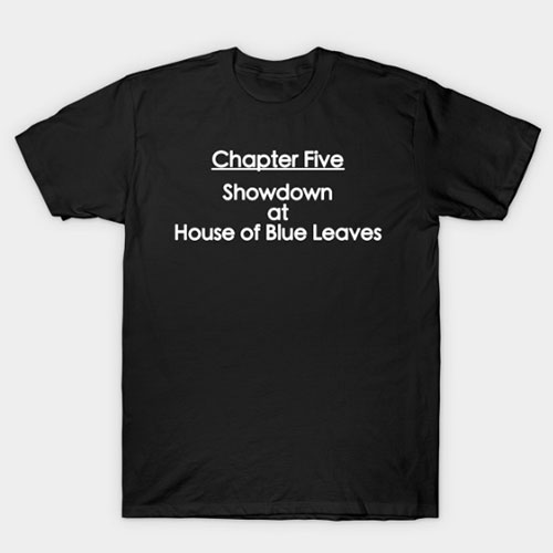 Kill Bill – Chapter Five House of Blue Leaves Tee T-Shirt