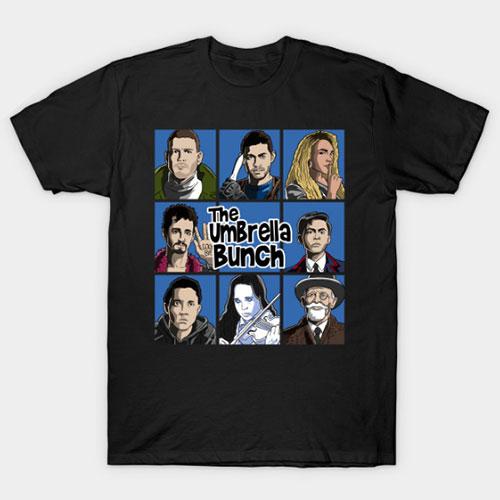 The Umbrella Bunch (color) T-Shirt