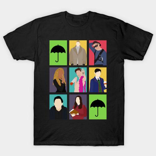 The Umbrella Academy Colors T-Shirt