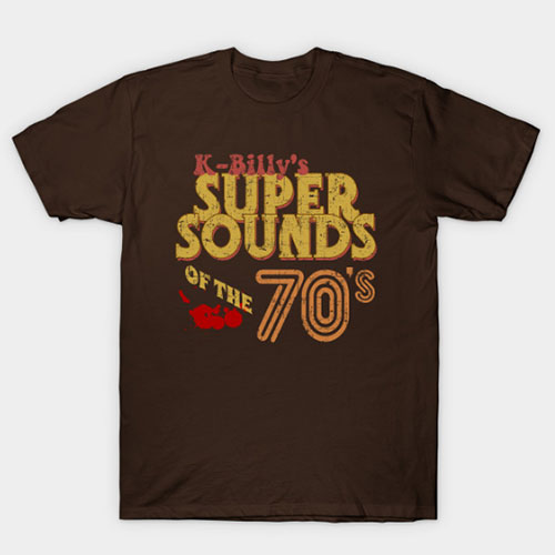 K-Billy's Super Sounds of the 70's, distresed T-Shirt