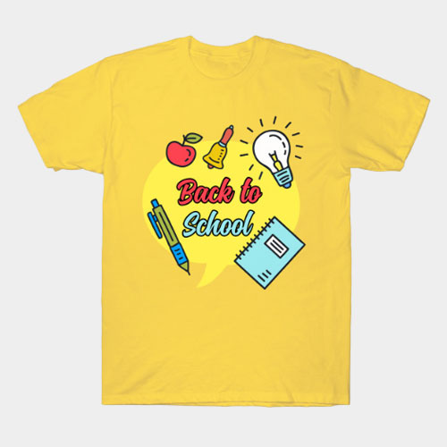 Back to School Design T-Shirt