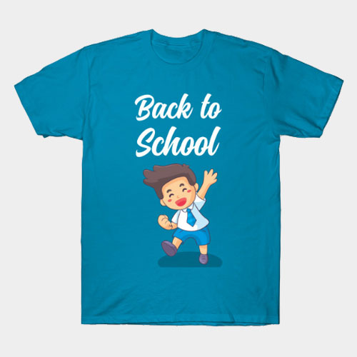 Back to School for boys T-Shirt