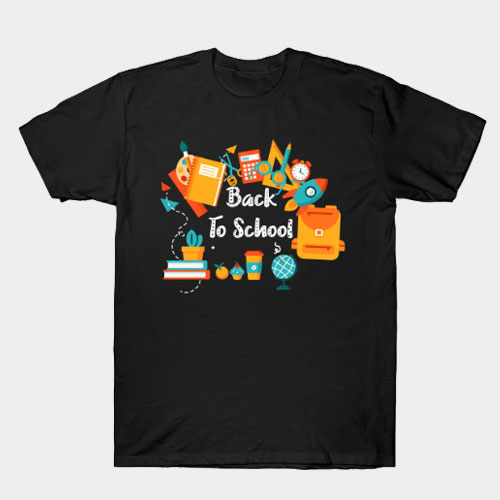 Funny Welcome Back To School Stationery T-Shirt