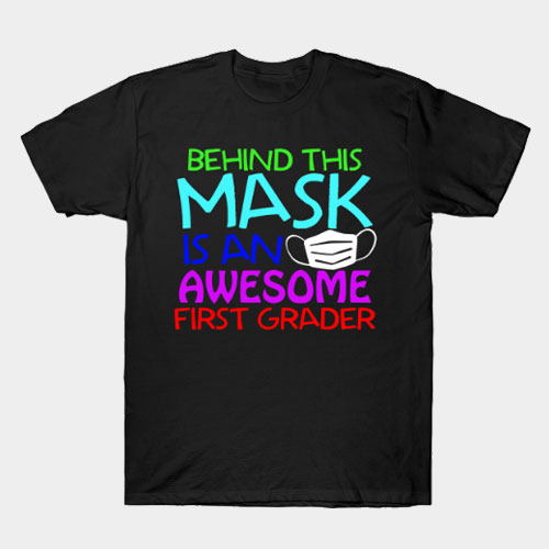 Back To School Shirt | Awesome First Grader Gift T-Shirt