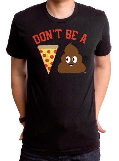 PIZZA POOP MEN'S T-SHIRT