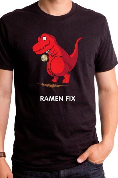 RAMEN FIX REX MEN'S T-SHIRT