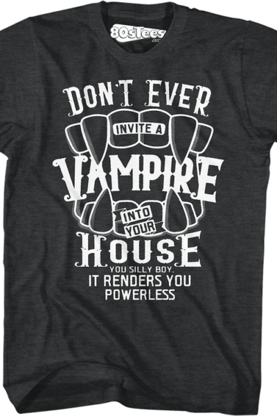 Don't Ever Invite A Vampire Into Your House Lost Boys