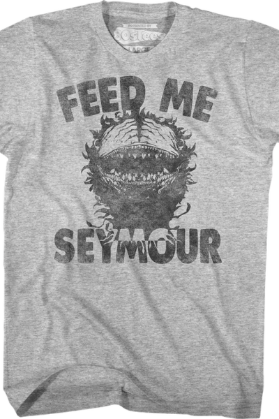 Feed Me Seymour Little Shop Of Horrors T-Shirt