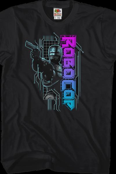 Neon Logo Robocop