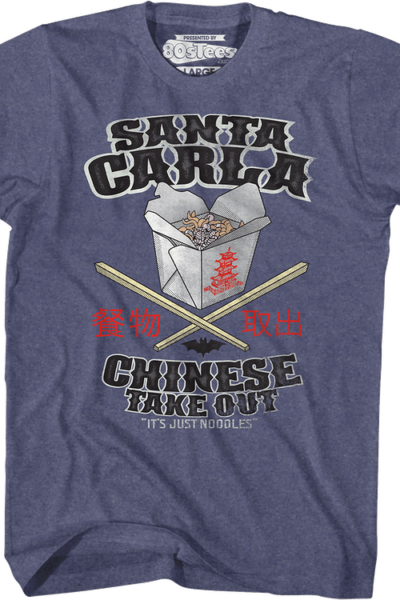 Santa Carla Chinese Take Out Lost Boys