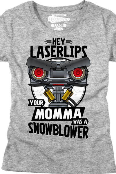 Womens Your Momma Was A Snowblower Short Circuit